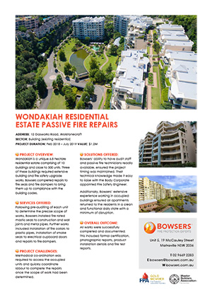 Wondakiah Residential Estate Case Study